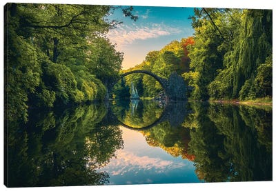 Devil Bridge - Germany Canvas Art Print