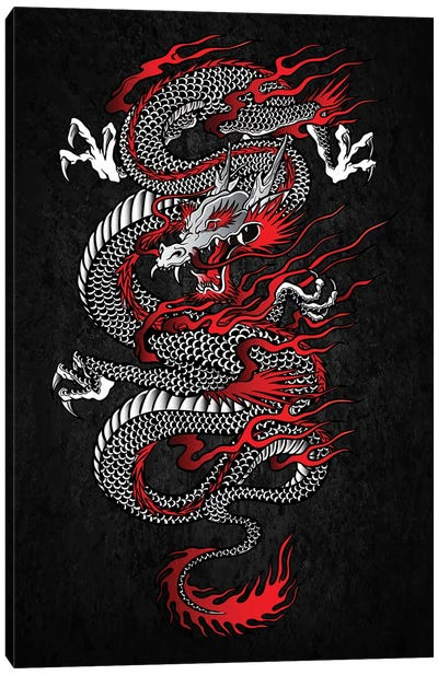 Asian Dragon Canvas Art Print