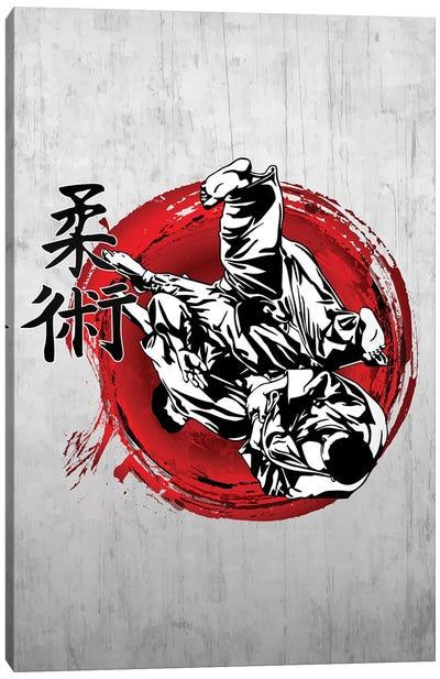 Jujitsu Canvas Art Print