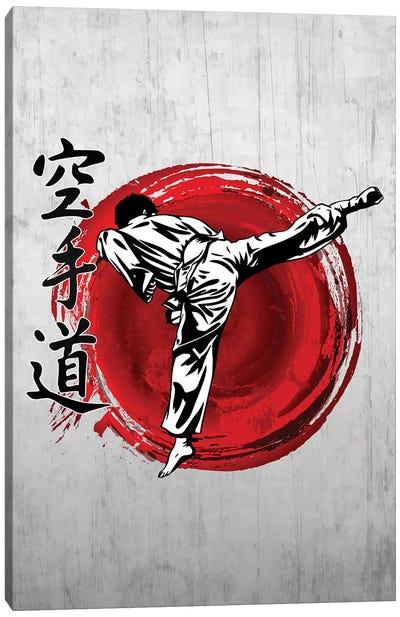Karate Do Canvas Art Print