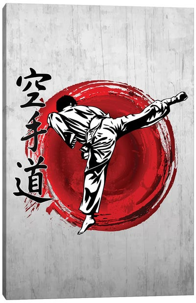 Karate Do Canvas Art Print