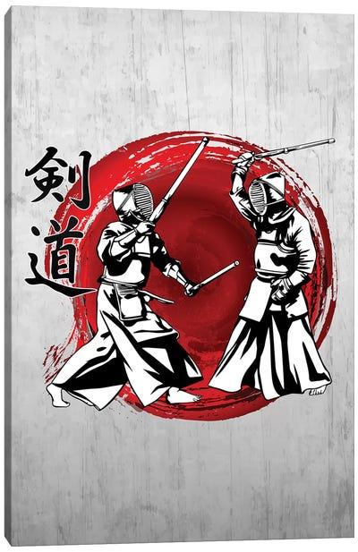 Kendo Canvas Art Print