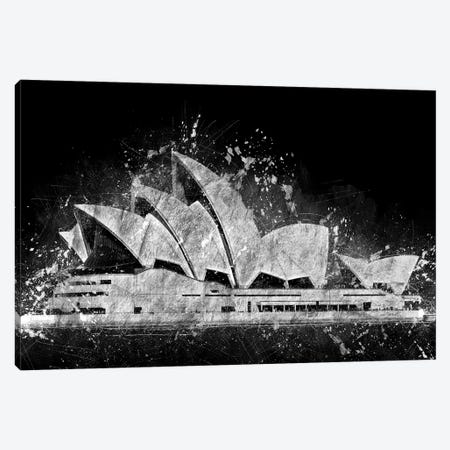 The Sydney Opera House Canvas Print #CVL11} by Cornel Vlad Art Print