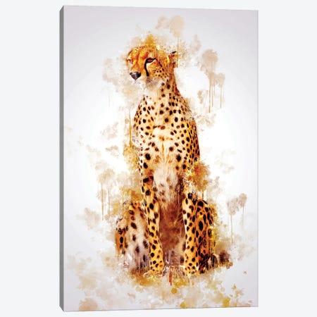 Cheetah Canvas Print #CVL123} by Cornel Vlad Canvas Artwork
