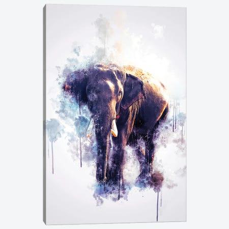 Elephant Canvas Print #CVL127} by Cornel Vlad Art Print