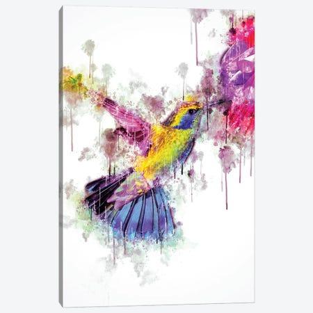 Humingbird 3-Piece Canvas #CVL136} by Cornel Vlad Canvas Artwork