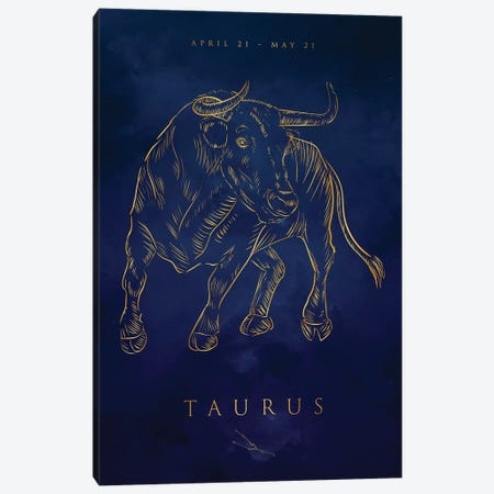 Taurus Canvas Print #CVL175} by Cornel Vlad Canvas Wall Art