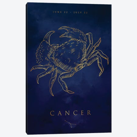 Cancer 3-Piece Canvas #CVL177} by Cornel Vlad Canvas Wall Art