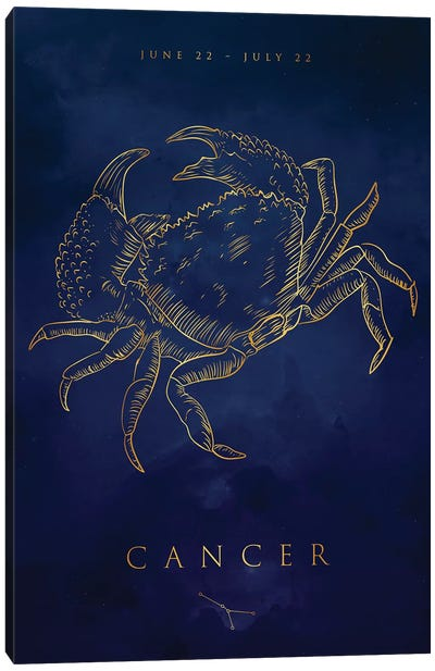 Cancer Canvas Art Print