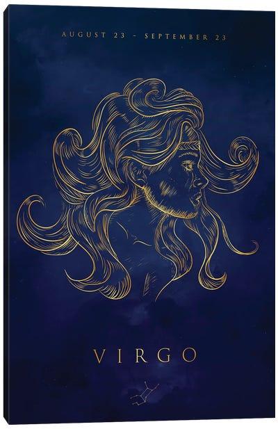 Virgo Canvas Art Print
