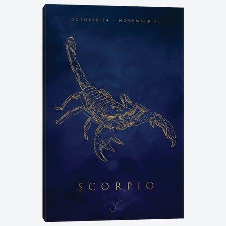 Scorpio Canvas Print #CVL181} by Cornel Vlad Canvas Wall Art