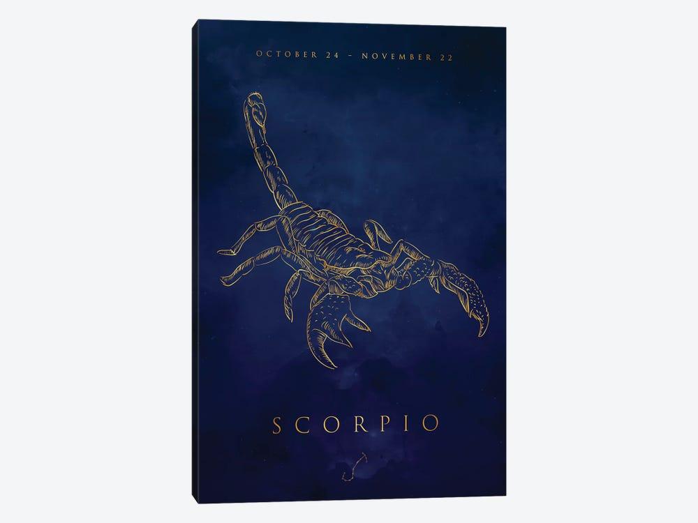 Scorpio by Cornel Vlad 1-piece Canvas Art Print