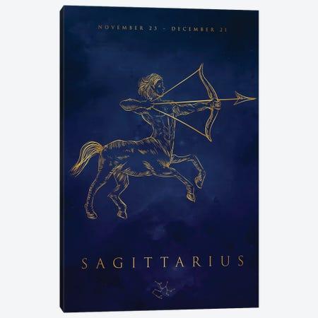 Sagittarius Canvas Print #CVL182} by Cornel Vlad Canvas Artwork