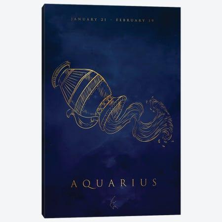 Aquarius Canvas Print #CVL184} by Cornel Vlad Art Print