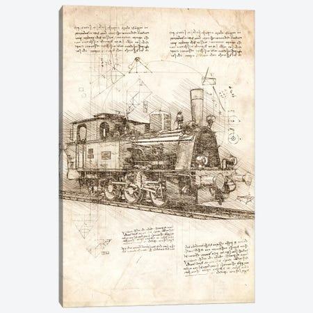 Locomotive Canvas Print #CVL191} by Cornel Vlad Canvas Print