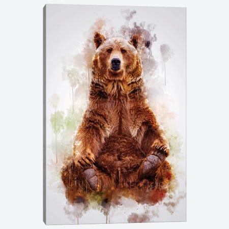 Brown Bear Canvas Print #CVL192} by Cornel Vlad Canvas Art Print