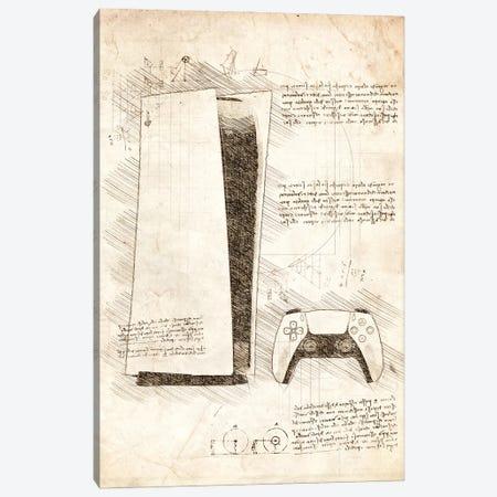 Playstation 5 Canvas Print #CVL196} by Cornel Vlad Canvas Artwork