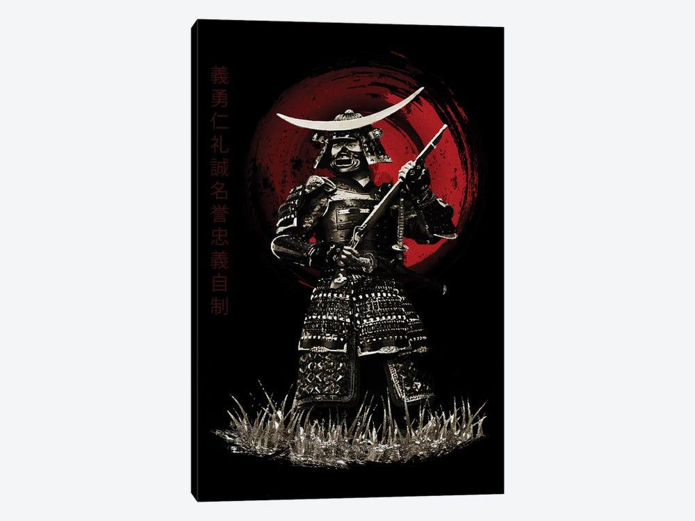Bushido Samurai With Rifle by Cornel Vlad 1-piece Canvas Print