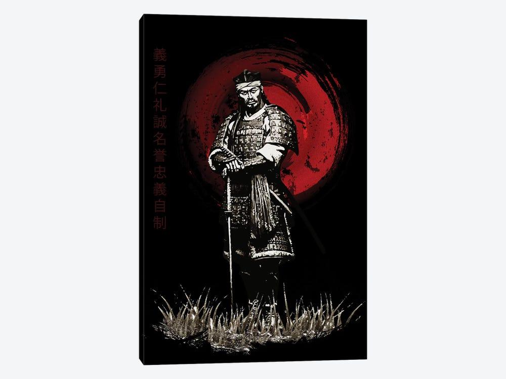 Bushido Samurai Posing by Cornel Vlad 1-piece Canvas Art