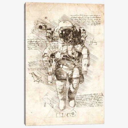 Astronaut Suit Canvas Print #CVL31} by Cornel Vlad Canvas Print