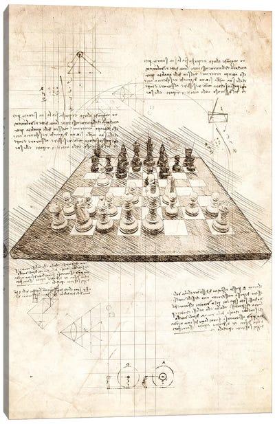 Chess Board Canvas Art Print