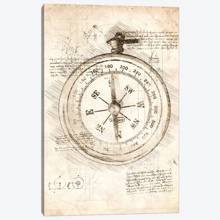 Compass Canvas Print #CVL38} by Cornel Vlad Canvas Print