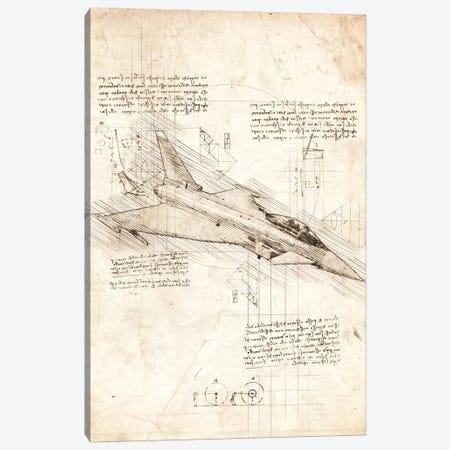 Eurofighter Typhoon Canvas Print #CVL40} by Cornel Vlad Canvas Wall Art