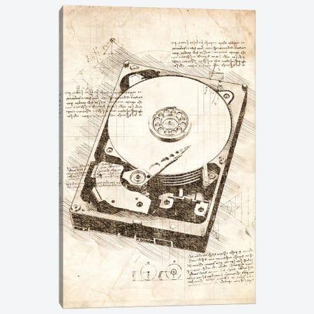 Hard Disk Drive Canvas Print #CVL47} by Cornel Vlad Canvas Art Print