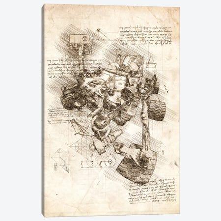 Mars Curiosity Rover Canvas Print #CVL55} by Cornel Vlad Canvas Wall Art