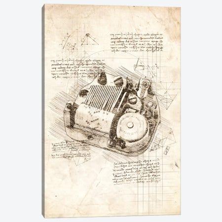 Music Box Canvas Print #CVL57} by Cornel Vlad Canvas Wall Art