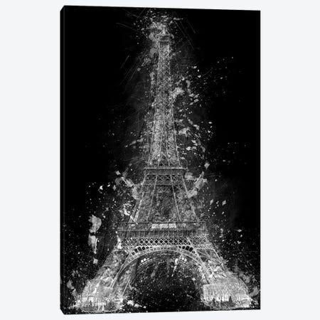 The Eiffel Tower Canvas Print #CVL5} by Cornel Vlad Canvas Art