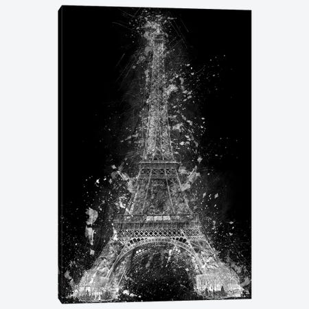 The Eiffel Tower 3-Piece Canvas #CVL5} by Cornel Vlad Canvas Art