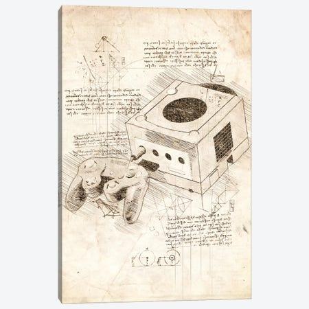 Nintendo Gamecube Canvas Print #CVL60} by Cornel Vlad Canvas Wall Art