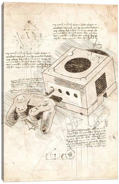 Nintendo Gamecube Canvas Art Print