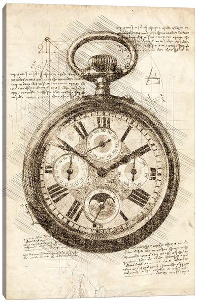 Old Pocketwatch Canvas Art Print