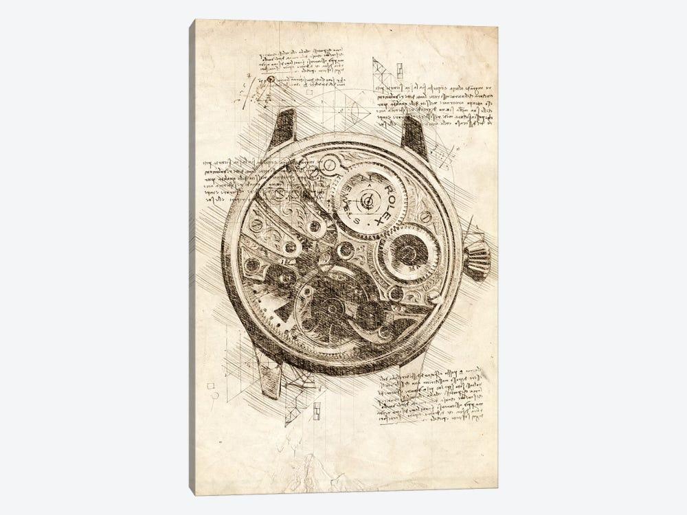 Rolex Insides by Cornel Vlad 1-piece Canvas Print