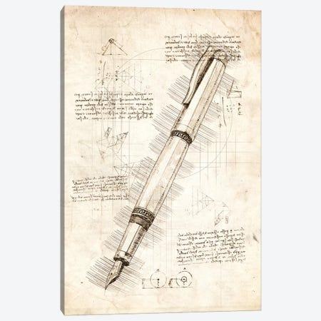 Fountain Pen Canvas Print #CVL81} by Cornel Vlad Canvas Art