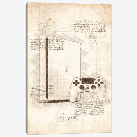Playstation 4 Canvas Print #CVL85} by Cornel Vlad Canvas Art Print