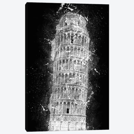 Leaning Tower Of Pisa Canvas Print #CVL8} by Cornel Vlad Art Print