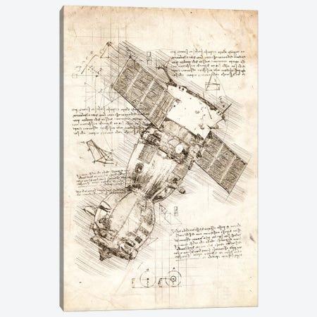 Soyuz Spacecraft Canvas Print #CVL90} by Cornel Vlad Canvas Art Print