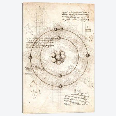 Subatomic Particles Canvas Print #CVL92} by Cornel Vlad Canvas Print