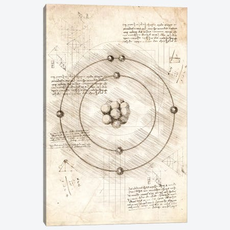 Subatomic Particles Canvas Print #CVL92} by Cornel Vlad Canvas Print