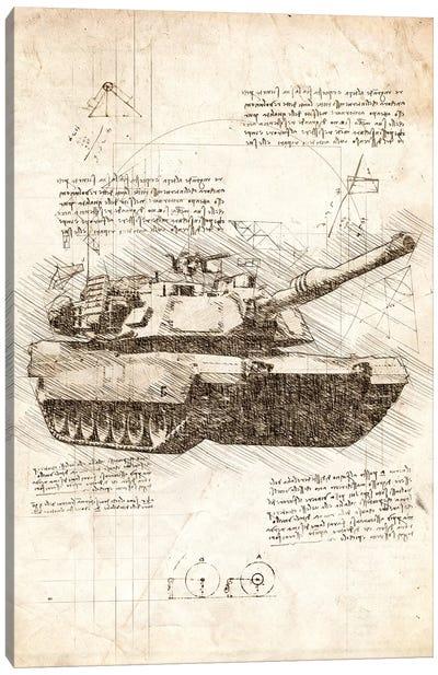 Tank Canvas Art Print