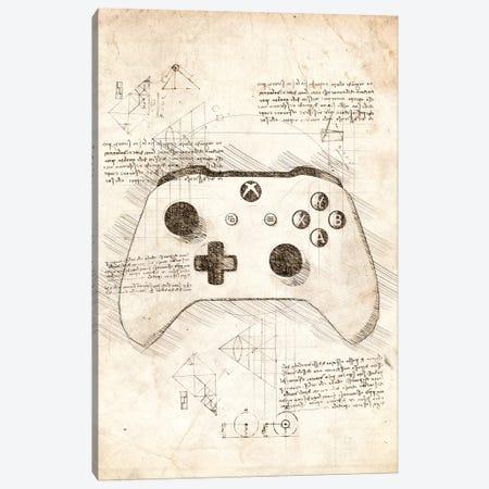 Xbox One Gamepad Canvas Print #CVL97} by Cornel Vlad Canvas Artwork