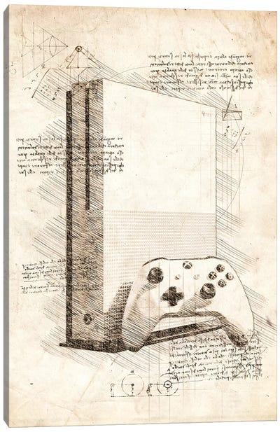 Xbox One S Canvas Art Print