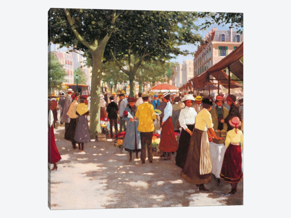 Street In The Old Days I 1-piece Art Print