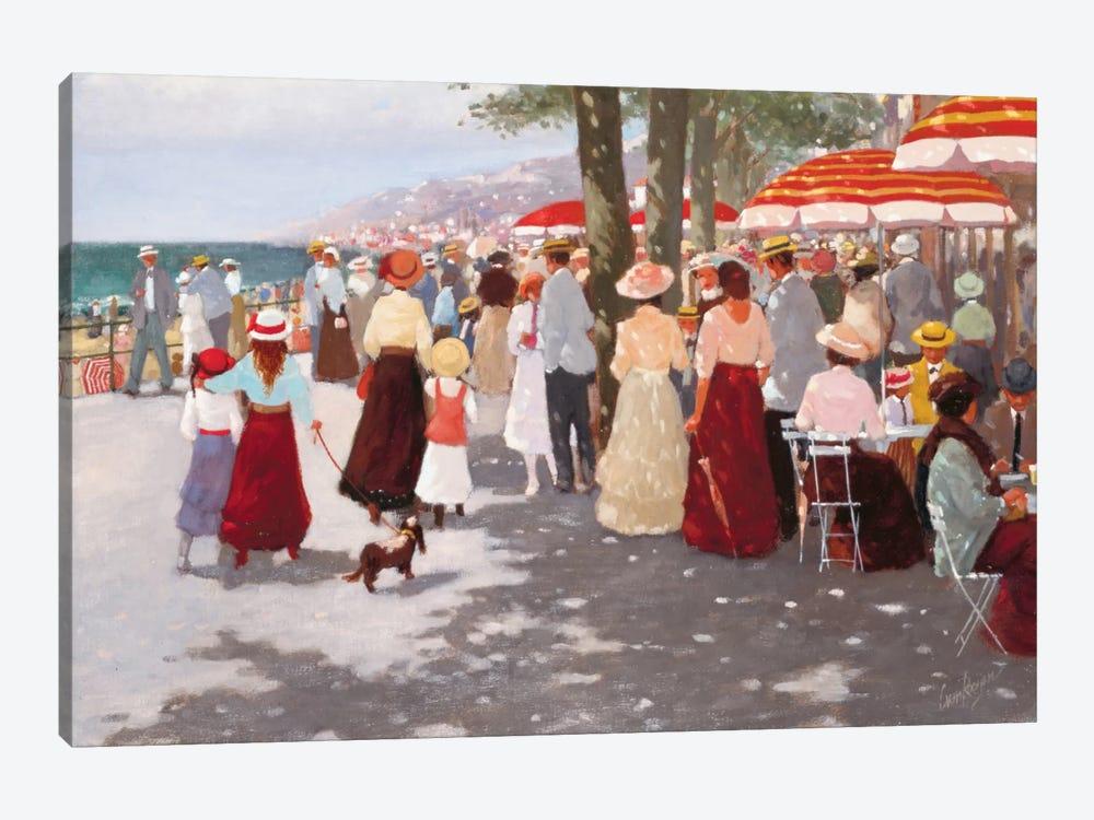 Street In The Old Days II by Carel van Rooijen 1-piece Canvas Wall Art