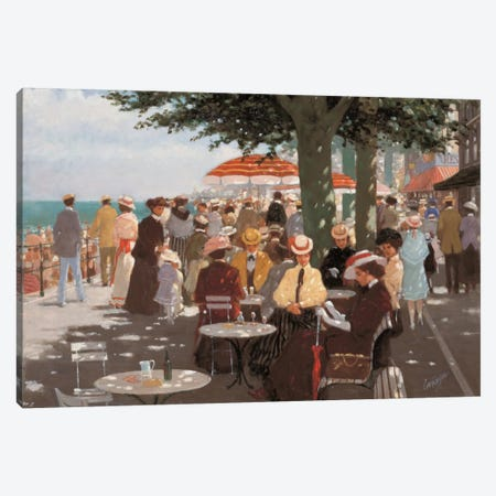 Terrace I Canvas Print #CVR14} by Carel van Rooijen Canvas Wall Art