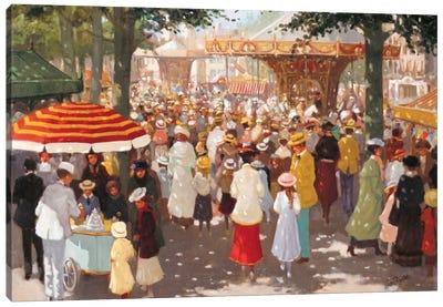 Old Marketplace III Canvas Art Print