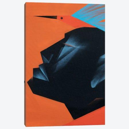 Cabeca III Canvas Print #CVT13} by VCalvento Art Print